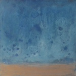 Blue and Bronze Waterscape